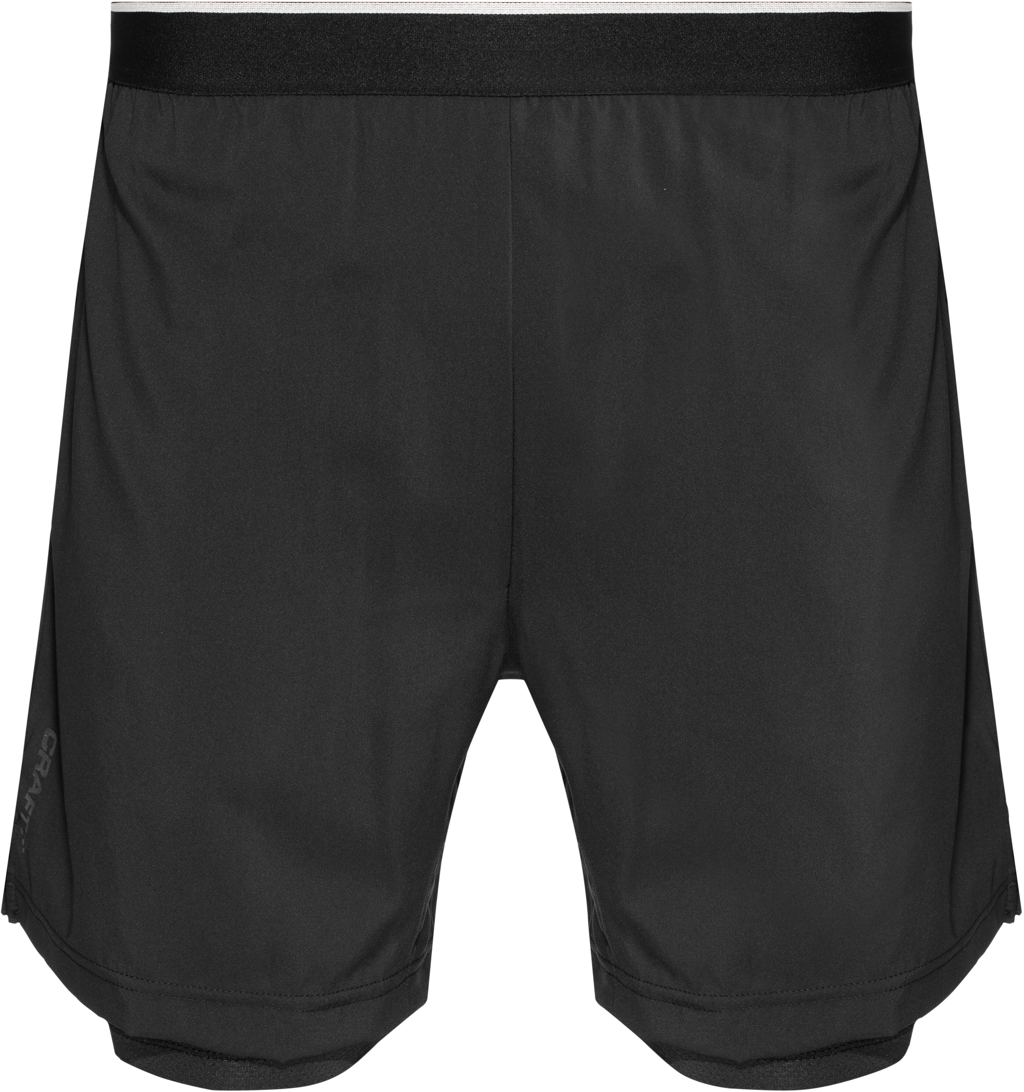 f64a2a6d Craft M's Charge 2-In-1 Shorts black - addnature.com